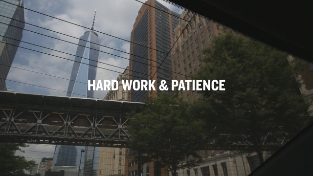 Hard Work & Patience